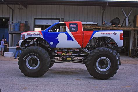 new bigfoot monster truck bigfoot monster truck becomes a chevrolet for the mlb