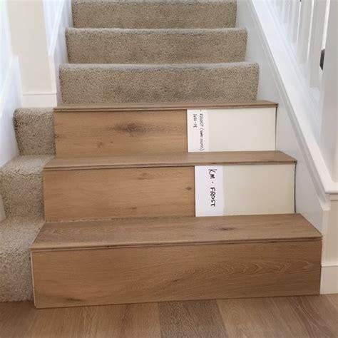 engineered hardwood vs laminate flooring stairs hardwood or painted risers