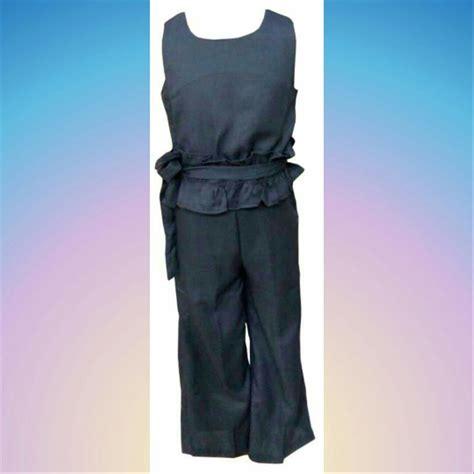 Wk100556 Baju Import jual baju anak perempuan import stelan kulot panjang di