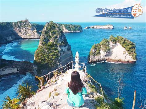 destinasi wisata  nusa penida  instagrammable