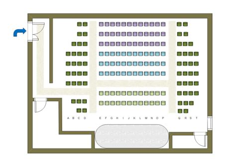 Theatre Style Seating Plan Template by Theater Seat Plan Free Theater Seat Plan Templates