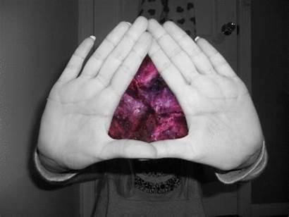 Hand Triangle Illuminati Hands Sign Signs Diamond