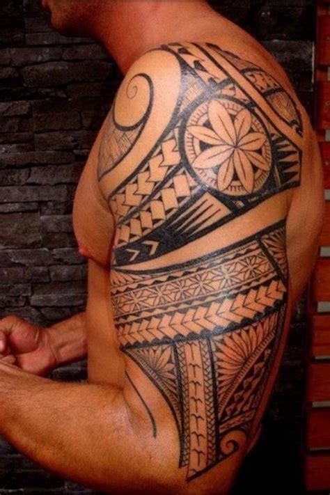 tatouage polynesien signification 1001 id 233 es tatouage polyn 233 sien l ancestral qui