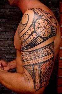 Tatouage Femme Maorie : 1001 id es tatouage polyn sien l 39 art ancestral qui marque corps et esprit ~ Melissatoandfro.com Idées de Décoration