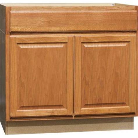 medium oak kitchen cabinets hton bay 36x34 5x24 in hton accessible sink base 7422