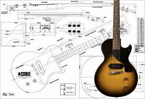 Gibson Les Paul U00ae Junior Electric Guitar Plan