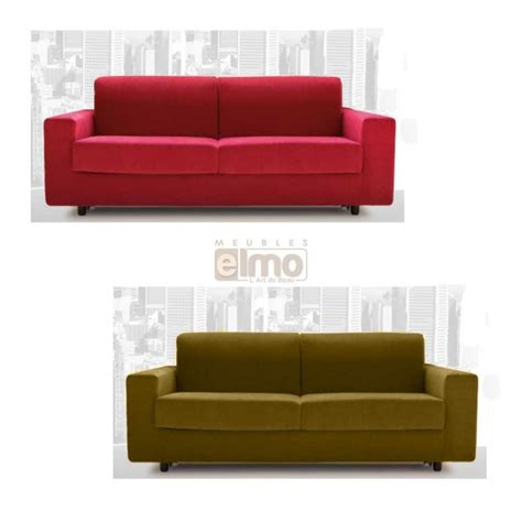 canap 233 convertible rapido couchage 3 tailles tissu tram 233
