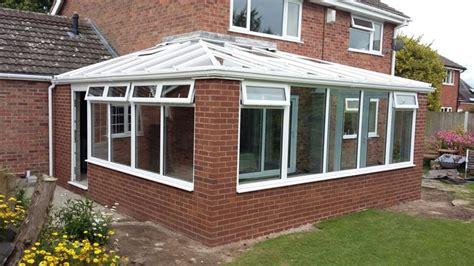 corner conservatory norbury shropshire   windows