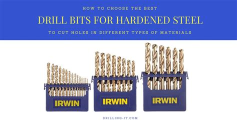 drill bits steel hardened drilling guide drills buyer tools
