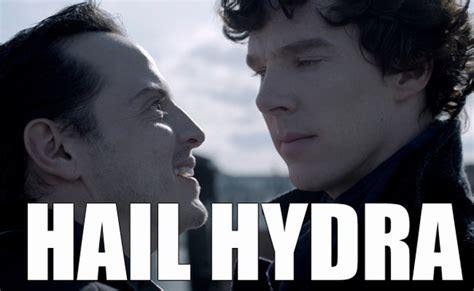 Hail Meme - moriarty you villain the best of the hail hydra meme zimbio