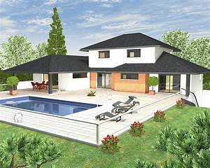 modeles et plans de maisons gt modele a etage inspiration With awesome maison en 3d gratuit 4 construction maison reunion accueil