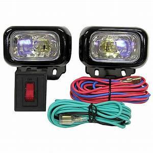 Peterson Compact Square Ion Driving Light Kit