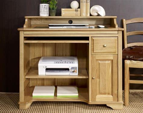 petit bureau en bois petit bureau informatique emeric en chêne de style louis