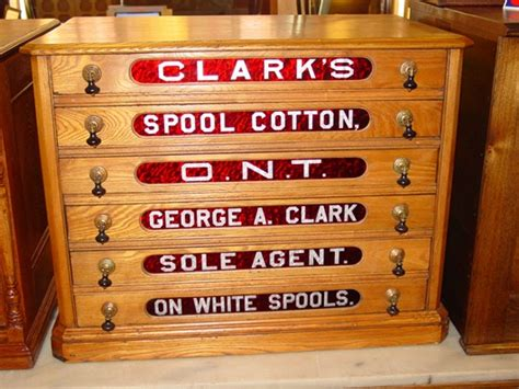 antique spool cabinet decals sydow s antiques