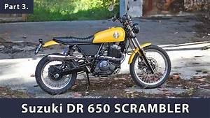 Dr 650 Rse : scrambler fallout build story part 3 suzuki dr 650 rse ~ Kayakingforconservation.com Haus und Dekorationen