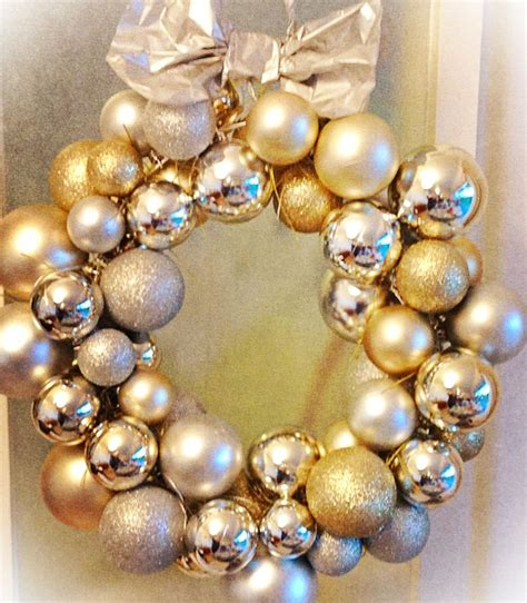 bauble wreath fun for christmas pinterest wreaths