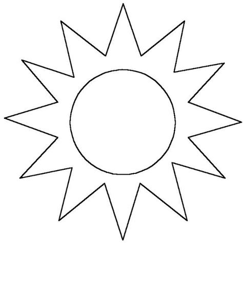 los dibujos  colorear dibujo de sol  colorear  imprimir gratis