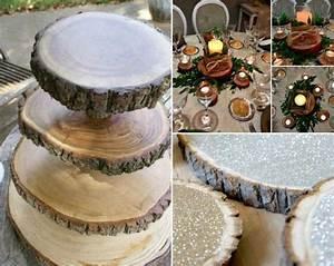 Tisch Aus Holzscheiben : adventskranz baumscheibenglitzer st nder selber machen tischdeko weihnachtlich dekorieren ~ Cokemachineaccidents.com Haus und Dekorationen