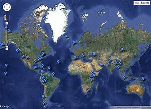 An Interactive Map Of Scientific Fieldwork