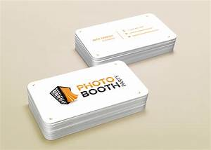 photo booth logo nikhil champ With photobooth business cards