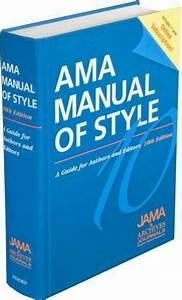 Ama Manual Of Style   A Guide For Authors And Editors By