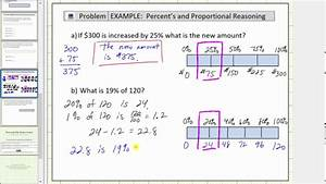 Solve Percent Problems Using A Tape Diagram  Bar Diagram