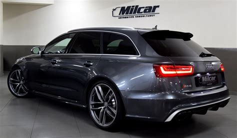 Maybe you would like to learn more about one of these? MILCAR ::: Automotive Consultancy » AUDI RS6 AVANT 2015