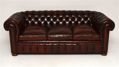 Chesterfield Sofa Antique by Antique Leather Chesterfield Sofa Marylebone Antiques