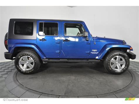 jeep sahara blue 2010 jeep wrangler sahara blue autos post