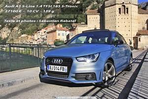 Audi A1 Tfsi 185 : essai audi a1 1 4 tfsi 185 ch s tronic s line bilan galerie photos actu automobile actu ~ Melissatoandfro.com Idées de Décoration