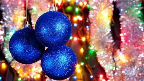 blue net christmas lights download wallpaper 1366x768 blue christmas balls and