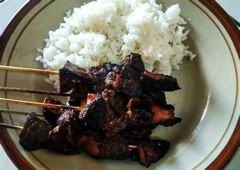 Indonesia adalah negeri asal mula juga hidangan sate dari pulau lombok. Resep Sate Kere Jeroan - Berburu Sate Kere Yu Rebi Pemerintah Kota Surakarta - Resep sate kere ...
