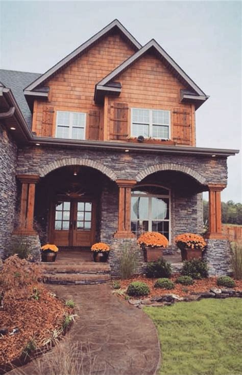 Wood And Homes by 25 Best Ideas About Rustic Exterior On Rustic