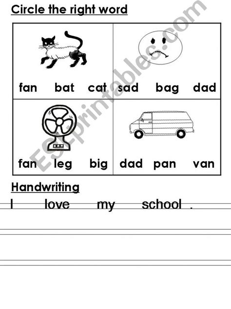 worksheets for kg2 esl english powerpoints kg2 evaluation sheets