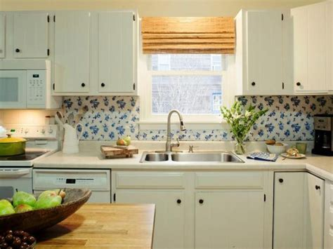 Backsplash Ideas For Kitchens Inexpensive by 7 Budget Backsplash Projects I M Home Kitchen