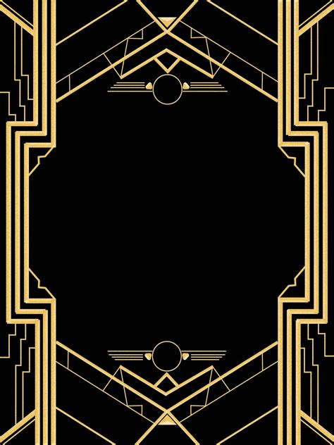 great gatsby invitation templates blank