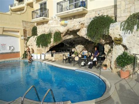 cave bar and pool picture of pergola club hotel spa mellieha tripadvisor