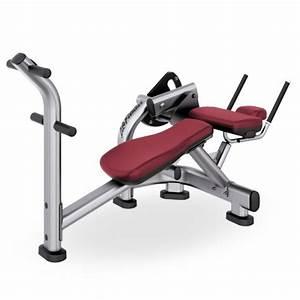 Life fitness ab/back machine