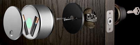 august door lock august smart lock wants to make your front door
