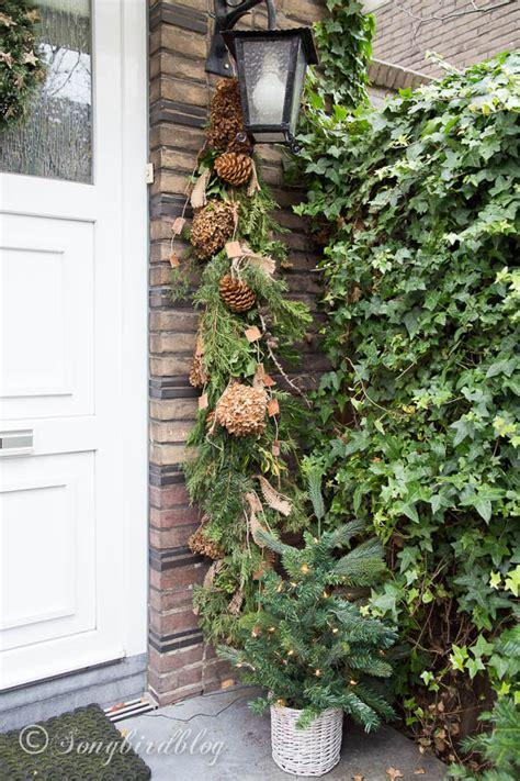 christmas ideas  door porch decor