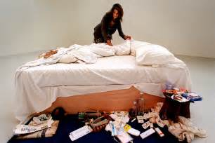 tracey emin i can t make my bed stay in uk but no gallery here can afford it evening