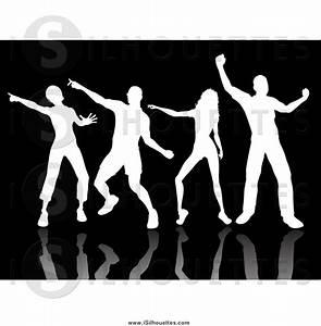 People Dancing Black Clipart