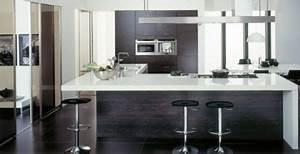 idee cuisine design stylish deco cuisine americaine With superior meuble bar pour cuisine ouverte 3 cuisine ouverte sur salon en 55 idees open space superbes