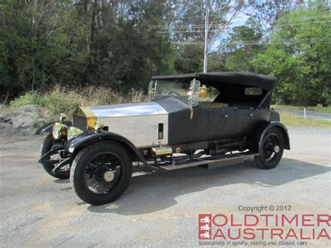 When Was Rolls Royce Founded by 1921 Rolls Royce 40 50hp Silver Ghost Brass Finish