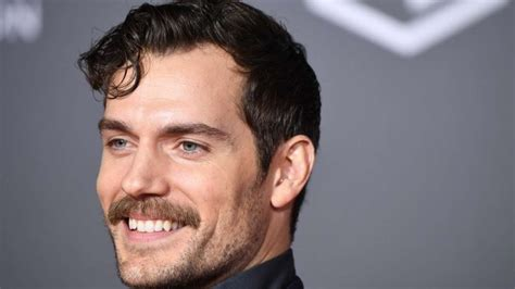 Henry Cavill is glad he had a 'world-changing' moustache
