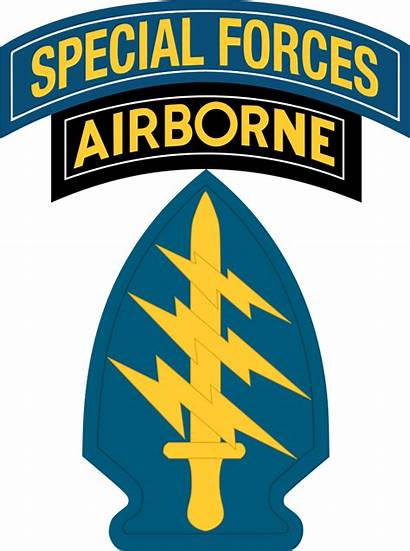 Forces Special Army Svg Tab Insignia Unit