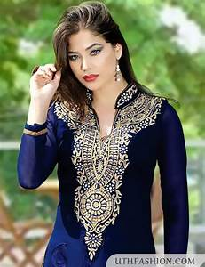 Awesome Girls Kurta Neck Design For Shalwar Kameez