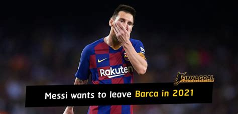 Lionel Messi halts renewal talks and wants to leave ...