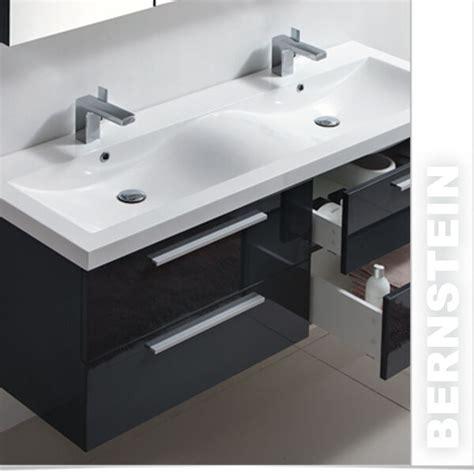 Badmöbel Set Anthrazit Doppelwaschbecken by Badm 246 Bel Set R1440 Anthrazit Doppelwaschbecken Ebay