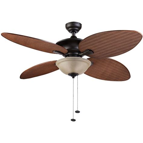 Honeywell Sunset Key Outdoor & Indoor Ceiling Fan, Bronze
